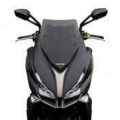 WIND SHIELD FOR MAXISCOOTER FOR KYMCO 400 XCITING 2018> (DARK SMOKED) -MALOSSI-