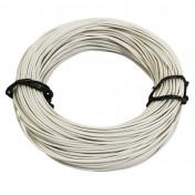 FIL ELECTRIQUE 0,50mm2 7/10 MULTIBRIN BLANC (50M) -SELECTION P2R-