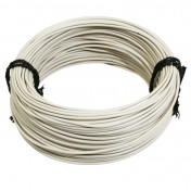 ELECTRIC WIRE 12/10 (1,00mm) WHITE (50M) -SELECTION P2R-