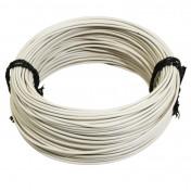 FIL ELECTRIQUE 1,00mm2 12/10 MULTIBRIN BLANC (50M) -SELECTION P2R-