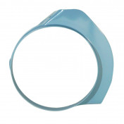 BELT COVER FOR MOPED MBK 88/881 BLUE BASE TO BE PAINTED -SELECTION P2R-