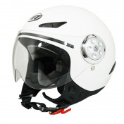HELMET-OPEN FACE - FOR CHILD - MT URBAN SOLID GLOSS WHITE YL (53 to 54cm)