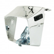 COWLING FOR HEADLIGHT FOR MOPED PEUGEOT 103 MVL, VOGUE CHROMED (WITH SPRING + BRACKET) -SELECTION P2R-