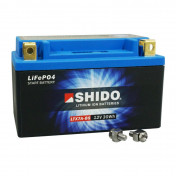 """BATTERY 12V 2,4 Ah LTX7A-BS SHIDO LITHIUM ION """"READY TO USE""""(Lg150xW87xH93) EQUALS YTX7A-BS"""