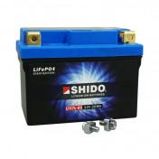 "BATTERY 12V 2,4 Ah LTX7L-BS SHIDO LITHIUM ION ""READY TO USE""(Lg113xW69xH125) EQUALS YTX7L-BS"