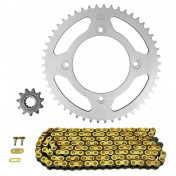 CHAIN AND SPROCKET KIT FOR BETA 50 RR SM 2005>2011 420 11x50 (REAR SPROCKET Ø 100/120/8.5) (OEM SPECIFICATIONS) -AFAM-
