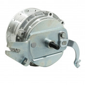 WHEEL HUB FOR MOPED PEUGEOT MBK 88/85 - Ø 100mm WITH DRUM BRAKING PLATE + AXLE -SELECTION P2R-