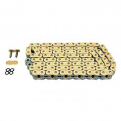 "CHAIN FOR MOTORBIKE AFAM 525 130 LINKS XS-RING HYPER REINFORCED ""GOLD"" (A525XHR3-G 130L)"