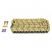 "CHAIN FOR MOTORBIKE AFAM 530 130 LINKS XS-RING HYPER REINFORCED ""GOLD"" (A530XHR2-G 130L)"