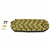CHAIN FOR MOTORBIKE- AFAM 428 118 LINKS REINFORCED GOLD - -(A428R1-G 118L)