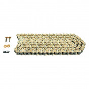 CHAIN FOR MOTORBIKE- AFAM 428 118 LINKS MX RACING GOLD - -(A428MX-G 118L)