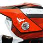 HELMET-CROSS ENDURO ADX MX2 GLOSS RED XXL (DOUBLE D RING)