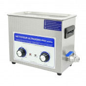 CLEANER TUB - ANALOGIC PROFESSIONAL ULTRASONIC - 6L 180 WATTS WITH OUTLET TAP (300x150x150mm) PREMIUM QUALITY