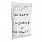 ABRASIVE GLASS GRANULATES FOR PROFESSIONNAL BLASTING CABINET (BAG 10 Kg)
