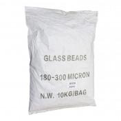 ABRASIVE GLASS MICOBEADS FOR BLASTING CABINET (BAG 10 Kg)