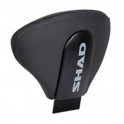 SHAD BACKREST - BLACK WITH LOGO (SUPPLIED WITHOUT MOUNTING BRACKET) (D0RP00)