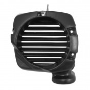 COOLING FAN COVER FOR SCOOT MBK 50 OVETTO 4STROKE 2008>2012/YAMAHA 50 NEOS 4STROKE 2008>2012 BLACK -P2R-