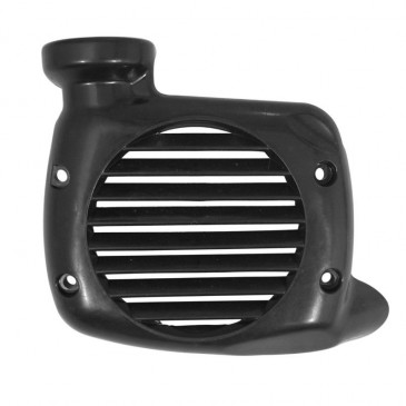 RADIATOR COVER FOR SCOOT MBK 50 OVETTO 4STROKE 2001>2007/YAMAHA 50 NEOS 4STROKE 2001>2007 BLACK -P2R-