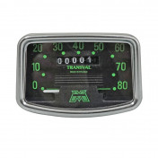 SPEEDOMETER FOR MOPED TRANSVAL 80KM/H FOR MBK 88 (WITH GEAR UNIT + TRANSMISSION)