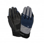 """GLOVES-SPRING/SUMMER TUCANO """"for men"""" PENNA BLUE/SILVER EURO 10 (L) (APPROVED EN 13594:2015-CE) (TOUCH SCREEN FUNCTION)"""