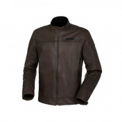TUCANO JACKET FOR MEN - PEL 2G BROWN LEATHER WITH SHOULDERS+ELBOW PROTECTIONS - EURO 48 (XL) (APPROVED EN 17092 CE - CLASSE A)
