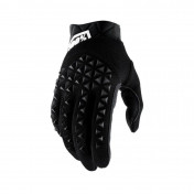 GLOVES - 100% AIRMATIC BLACK EURO 12 (XXL) (APPROVED EN 13594:2015)
