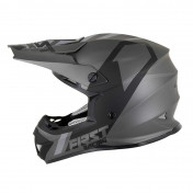 CASQUE CROSS ADULTE FIRST RACING K2 GRIS/ANTHRACITE/NOIR XS