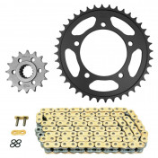 CHAIN AND SPROCKET KIT FOR APRILIA 1200 DORSODURO 2011>2014 525 16x40 (Ø SPROCKET 100/120/10.25) (OEM SPECIFICATIONS) -AFAM-
