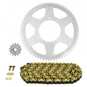 CHAIN AND SPROCKET KIT FOR APRILIA 125 RX 2018>2020 428 14x69 (OEM SPECIFICATIONS) -AFAM-