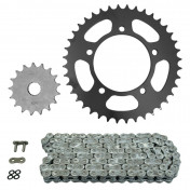 CHAIN AND SPROCKET KIT FOR BETA 125 RS 2006>2012 520 17x40 (Ø SPROCKET 100/120/10.5) (OEM SPECIFICATIONS) -AFAM-