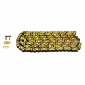 CHAIN FOR MOTORBIKE - AFAM 420 - 140 LINKS REINFORCED - GOLD (A420R1-G 140L)