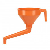 ENTONNOIR PRESSOL EN POLYETHYLENE ORANGE DIAMETRE 160mm COMBINE AVEC WAL (VENDU A L'UNITE)