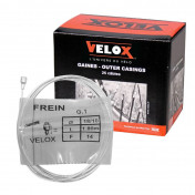 CABLE FOR BRAKES - FOR MOPED - VELOX G.1- FOR MBK head 6x10mm Ø 18/10 Lg 1,80M (14 wires) (IN BOX PER 25)