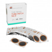 PATCH FOR INNER TUBE - TIP TOP COMBIBOX N°0 RED - ROUND - Ø 30mm (100 items) (5000036)