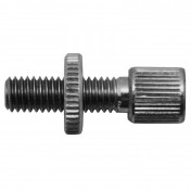 CABLE ADJUSTMENT SCREW FOR MOPED M6 L20mm (WITH SMALL SETTING WHEEL) FOR BRAKE PEUGEOT MOPED (SOLD PER UNIT) (ALGI 02927000)