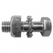 BOLT FOR REAR CHAIN SPROCKET FOR MOPED 103 PEUGEOT WITH SOLID WHEELS-M6X100-LG20mm (SOLD PER UNIT) 02944000