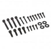 FAIRING KIT FASTENER (SCREW+WASHER-STEEL) FOR PIAGGIO 50 TYPHOON, NTT, NRG BLACK