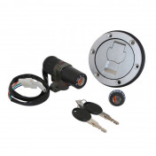 IGNITION SWITCH FOR 50cc MOTORBIKE APRILIA RS50 2006> (WITH SEAT LOCK + FUEL CAP) -SELECTION P2R-