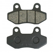 BRAKE PADS FOR SCOOT 50 CHINOIS GY6, 139 QMB FRONT (DUAL PISTON CALIPER)-P2R -