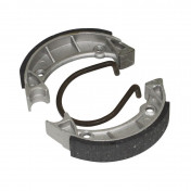 BRAKE SHOE FOR MOPED PEUGEOT 103 SPX-RCX -FRONT+REAR- (Ø 90mm -1 SPRING-HONEYCOMB) (SOLD IN PAIRS)