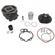 COMPLETE CYLINDER KIT FOR 50cc MOTORBIKE MINARELLI 50 AM6/MBK 50 X-POWER, X-LIMIT/YAMAHA 50 TZR, DTR/PEUGEOT 50 XPS/RIEJU 50 RS1/BETA 50 RR/APRILIA 50 RS 1995>2005 - CAST IRON OLYMPIA-