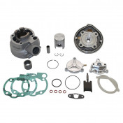 COMPLETE CYLINDER KIT FOR 50cc MOTORBIKE ATHENA FOR MINARELLI 50 AM6/MBK 50 X-POWER, X-LIMIT/YAMAHA 50 TZR, DTR/PEUGEOT 50 XPS/RIEJU 50 RS1/BETA 50 RR/APRILIA 50 RS 1995>2005 (WITH EXHAUST RELEASE VALVE)