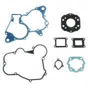 COMPLETE GASKET SET - FOR DERBI 50 SENDA 1994>2005, GPR 1997>2005/GILERA 50 SMT 2001>2005, RCR ( DERBI EURO 2 ENGINE + METALIC HEAD GASKET) - -SELECTION P2R-