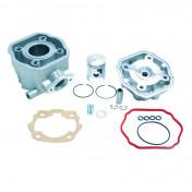 COMPLETE CYLINDER KIT FOR 50cc MOTORBIKE DERBI 50 SENDA 1996>2005, GPR/GILERA 50 SMT 2000>2005, RCR (EURO 2 ENGINE) -ALUMINIUM NIKASIL AIRSAL-