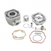 COMPLETE CYLINDER KIT FOR 50cc MOTORBIKE DERBI 50 SENDA 2006>, GPR 2006>/GILERA 50 SMT 2006>, RCR 2006> (PIAGGIO EUR 3 ENGINE) -ALUMINIUM NIKASIL AIRSAL-