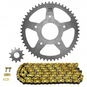 CHAIN AND SPROCKET KIT FOR PEUGEOT 50 XPS STREET 2006>2008 420 11x52 (BORE Ø 62mm) (OEM SPECIFICATION) -AFAM-