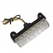 DECORATIVE LIGHTNING - REPLAY - BAR SHAPED - 6 CLEAR LEDS- TRANSPARENT/BLACK - (L 78Mm / H 16mm / W 24mm) CEE APPROVED