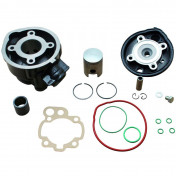 COMPLETE CYLINDER KIT FOR 50cc MOTORBIKE DR CAST IRON FOR MINARELLI 50 AM6/MBK 50 X-POWER, X-LIMIT/YAMAHA 50 TZR, DTR/PEUGEOT 50 XPS/RIEJU 50 RS1/BETA 50 RR/APRILIA 50 RS 1995>2005