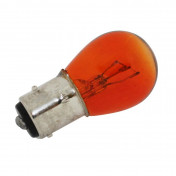 LIGHT BULB 12V 21/5W STANDART P21/5W FOOT BAY15D ORANGE (TURN LIGHT) (SOLD PER 10) -SELECTION P2R-