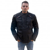 JACKET ADX (THREE QUARTER LENGTH) URBAN BLACK M (WITH PROTECTIONS/WITHOUT BACK PROTECTION)
